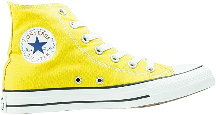 converse montante jaune