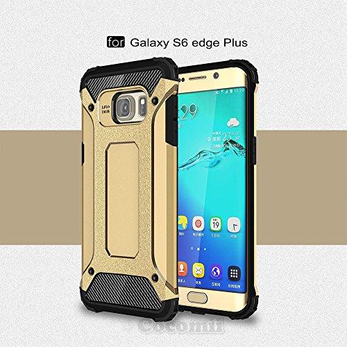 Galaxy S6 Edge Plus Case, Cocomii® [HEAVY DUTY] Commando Case *NEW* [ULTRA BONIC ARMOR] Premium Dustproof Shockproof Bumper [MILITARY DEFENDER] Full-body Rugged Dual Layer Hybrid Cover (Gold) ★★★★★