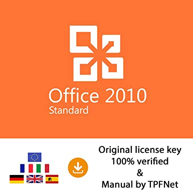 Microsoft Office 2010 Standard cheap license