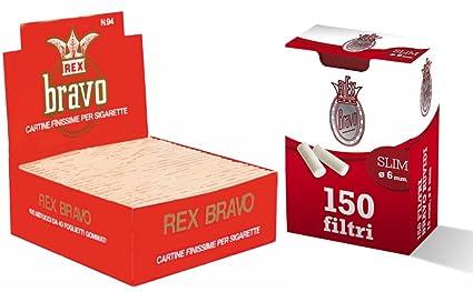 4000 RIZLA FILTRI REGULAR 4000 CARTINE BRAVO REX