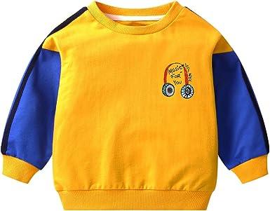 LAPLBEKE Niños Bebé Sudadera Cartoon Suéteres Camiseta Sweatshirt ...