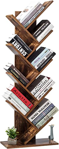 Tangkula 55-Inch Tree Bookshelf