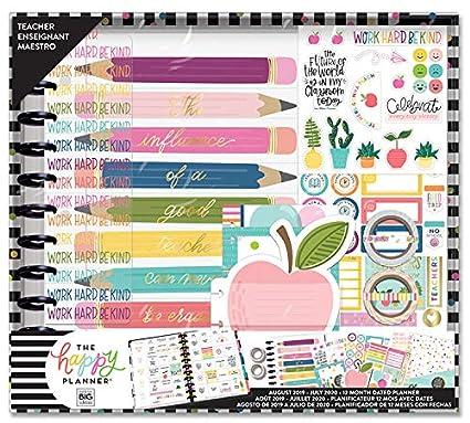 The Happy Planner Big Teacher Box Kit - Teacher's Influence - 12 Months  August 2019-July 2020