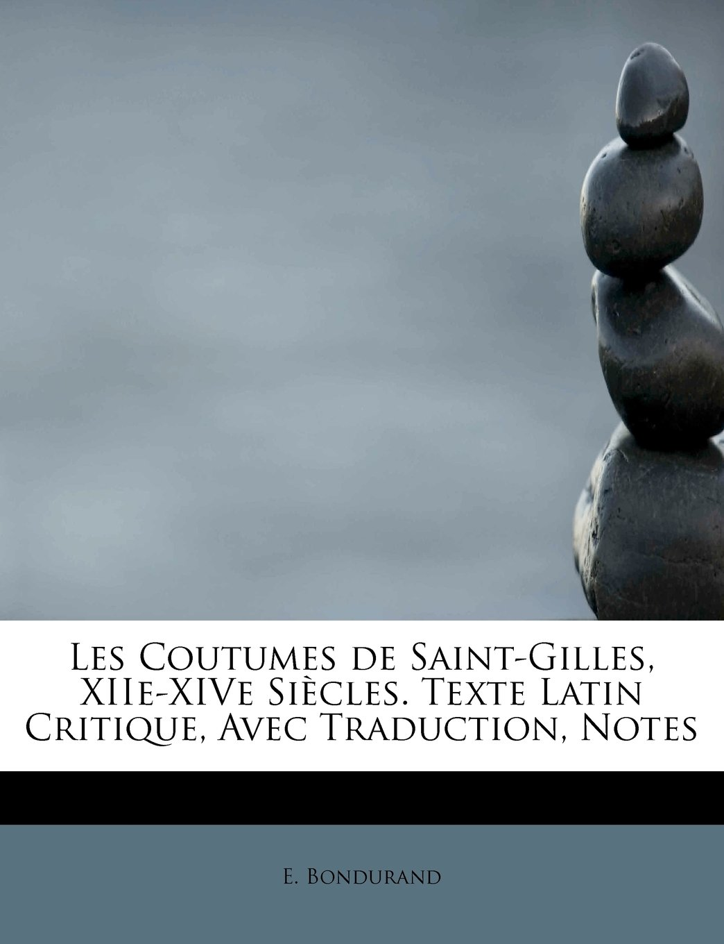 Download Les Coutumes de Saint-Gilles, XIIe-XIVe Siècles. Texte Latin Critique, Avec Traduction, Notes (French Edition) pdf