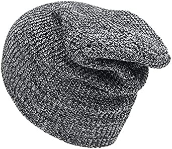 LALANG Mens Beanie Hat Knitted Slouchy Hat