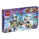 LEGO Friends Snow Resort Ski Lift Building Kit, 585 Piece