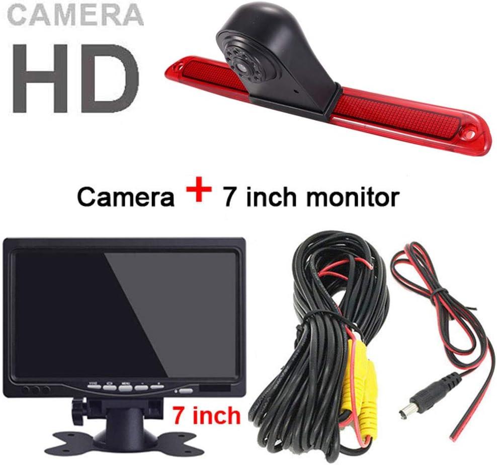 【Super HD R/ückfahrkamera Set】4.3 Zoll TFT LCD Farbdisplay Auto Monitor 1280*720 Pixel HD Nachtsicht R/ückfahrkamera f/ür Mercedes Sprinter W906 W907 W910 316 CDI Viano Vito Transit Ducato VW Crafter