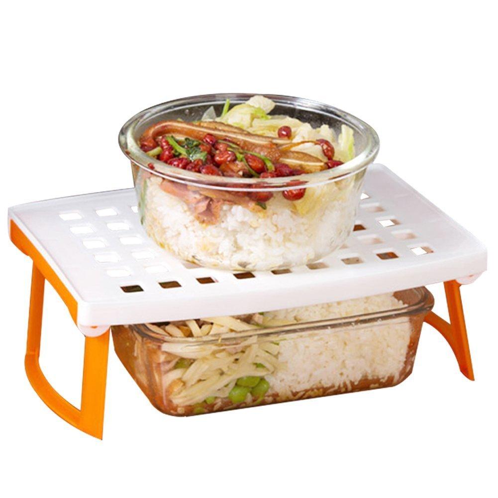 Amazon.com: KF653 Multipurpose Foldable Microwave Oven Steam Rack ...