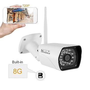 Amazon.com: Cámara de seguridad, inkerscoop 720P – Cámara de ...
