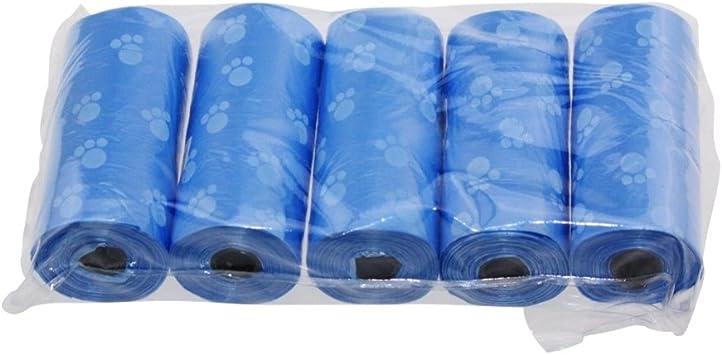 Amazon.com: Perro caca bolsas, patgoal caca – 5 Rollo perro ...