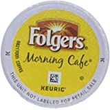24 Count - Folgers Gourmet Selections Morning Cafe Coffee For Keurig Brewers