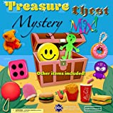 Treasure Chest MYSTERY Mix Toys in 1 Inch Vending Capsules - 250 Count, with Display
