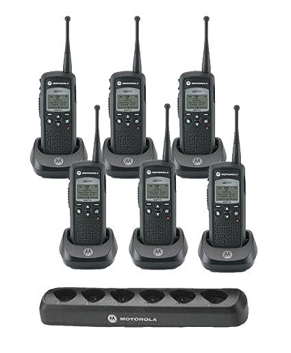 Amazon 6 Motorola DTR650 DIGITAL License Free 900 MHz Radio 1 53960 Charger Car Electronics