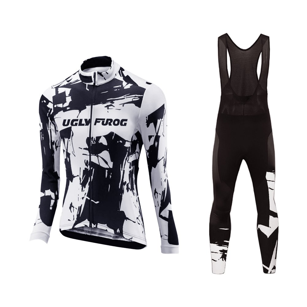 Uglyfrog Cycling Jersey 2018 Spring New Fashion Women's Bike Shirt Sports Cycle Long Sleeves Polyester Tops Bicycle Clothes Triathon Clothing Set Comfortable Quick-Dry WZ01