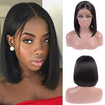 Perruque Bresilienne Bob Humain Hair Lace