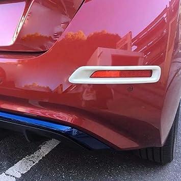 Kadore Car Rear Fog Light Lamp Cover Trim Bezel for Nissan