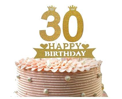 Amazon Alemon 30th Happy Birthday Cake Topper Dirty Thirty