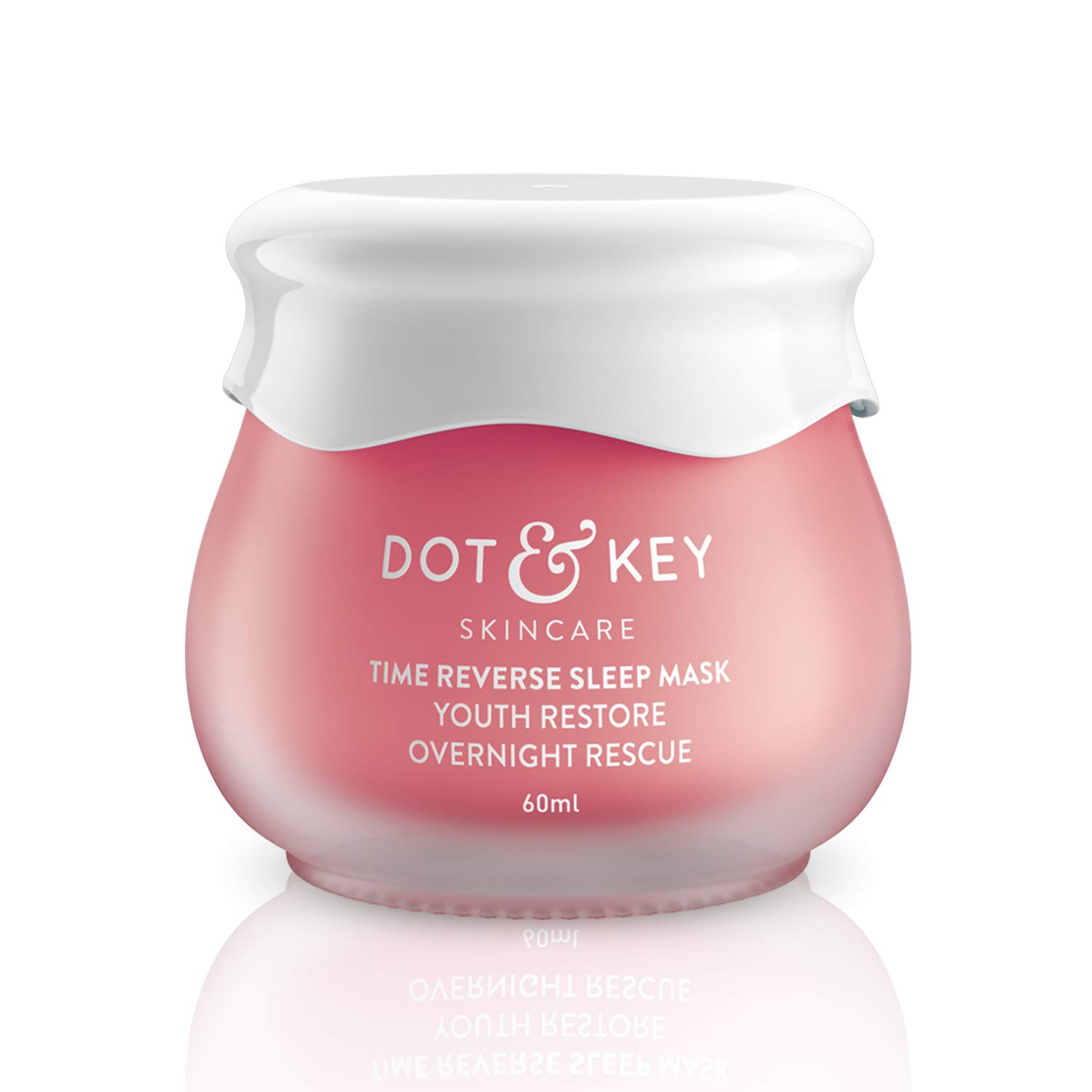 Dot & Key Time Reverse Sleep Mask, Youth Restore Overnight Rescue Mask, Anti Ageing Night Gel 60ml, with Retinol and…