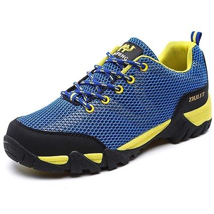 dd6a8a193d07e Amazon.com: Giles Jones Men Hiking Shoes Anti-Skid Breathable ...
