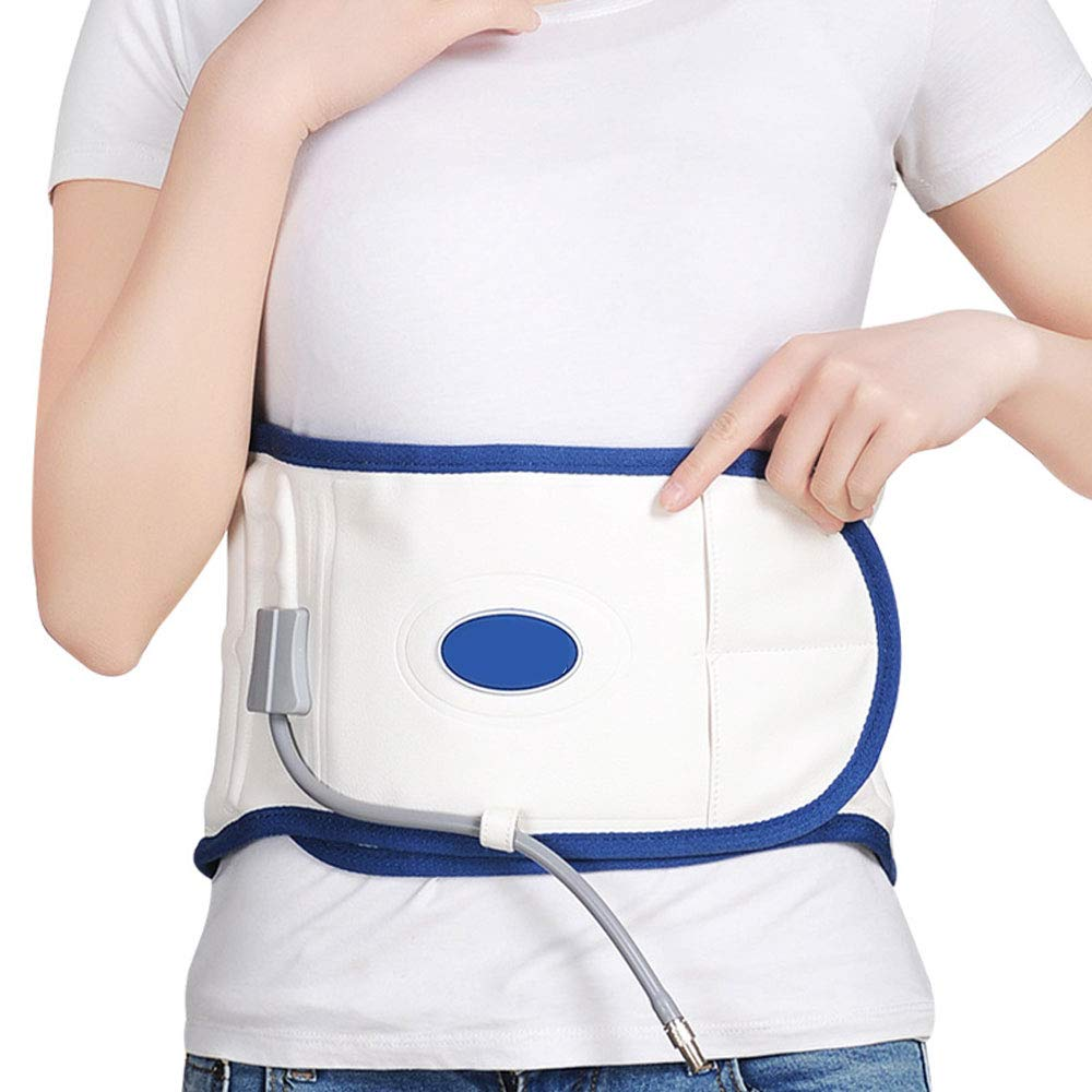 Physio Decompression Back Belt, Back Brace Back Pain Lower Lumbar Support, Back Massage Air Decompression Back Brace - Size for 29 inches to 51 inches Waists, Great Gift