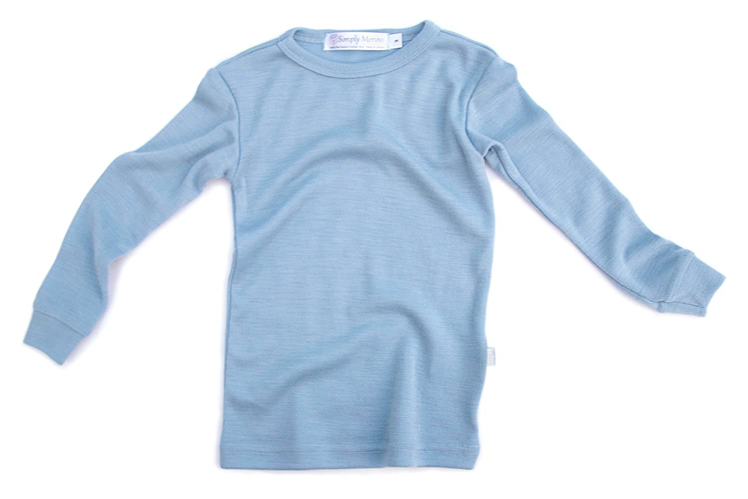 Merino Wool Kids Pajama Set Thermal Underwear Base Layer PJ Unisex.