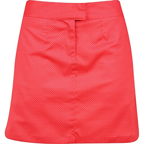 UPC 888536138028, Puma Golf Women's Diamond Tech Skirt, 4, Lipstick Red-Cayenne