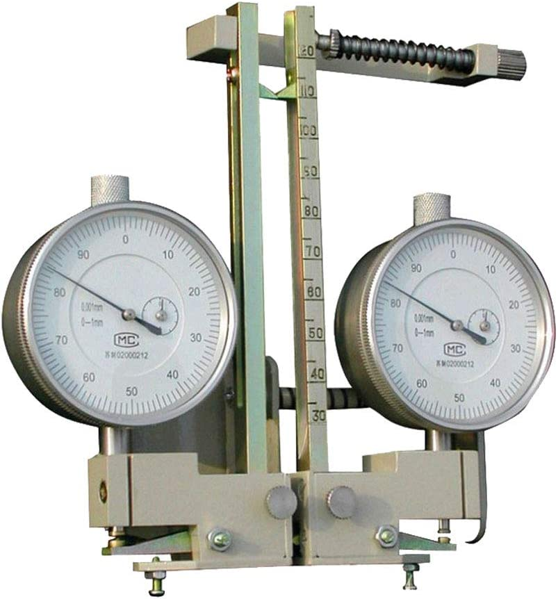 30~120mm, 0~3mm MXBAOHENG Butterfly Extensometer Reinforced Extensometer Butterfly Extended Tester Calibrator