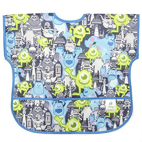 [Bumkins Disney Baby Waterproof Junior Bib, Monsters Inc. Gray (1-3 Years)] (Baby In Monsters Inc)