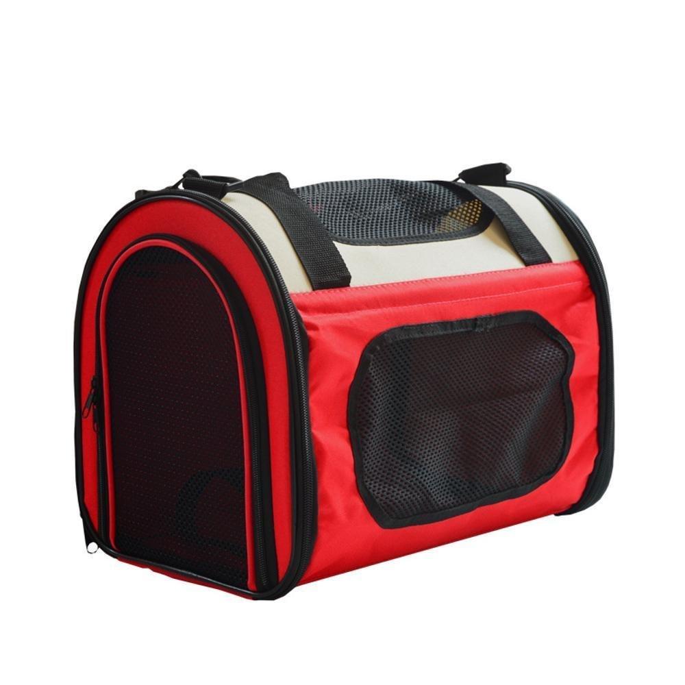 acquista la qualità autentica al 100% Dixinla Zaino per animali domestici Tenda Tenda Tenda piccola cane fuori panno di oxford borsa zaino borsa a tracolla singola 40  25  30 cm  Miglior prezzo
