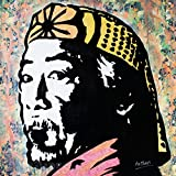 MR.BABES - ''The Karate Kid: Mr. Miyagi (Pat Morita)'' - Original Pop Art Painting - Movie Portrait