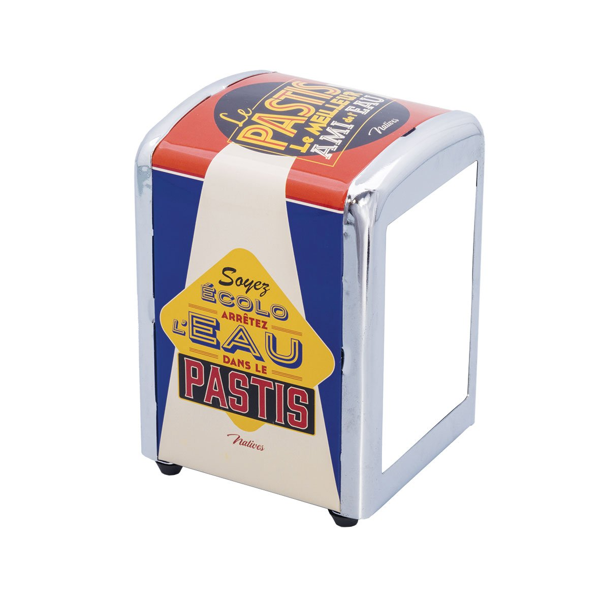 Natives 610360 - Dispensador de servilletas Metal 9,9 x 5 x 7 cm: Amazon.es: Hogar