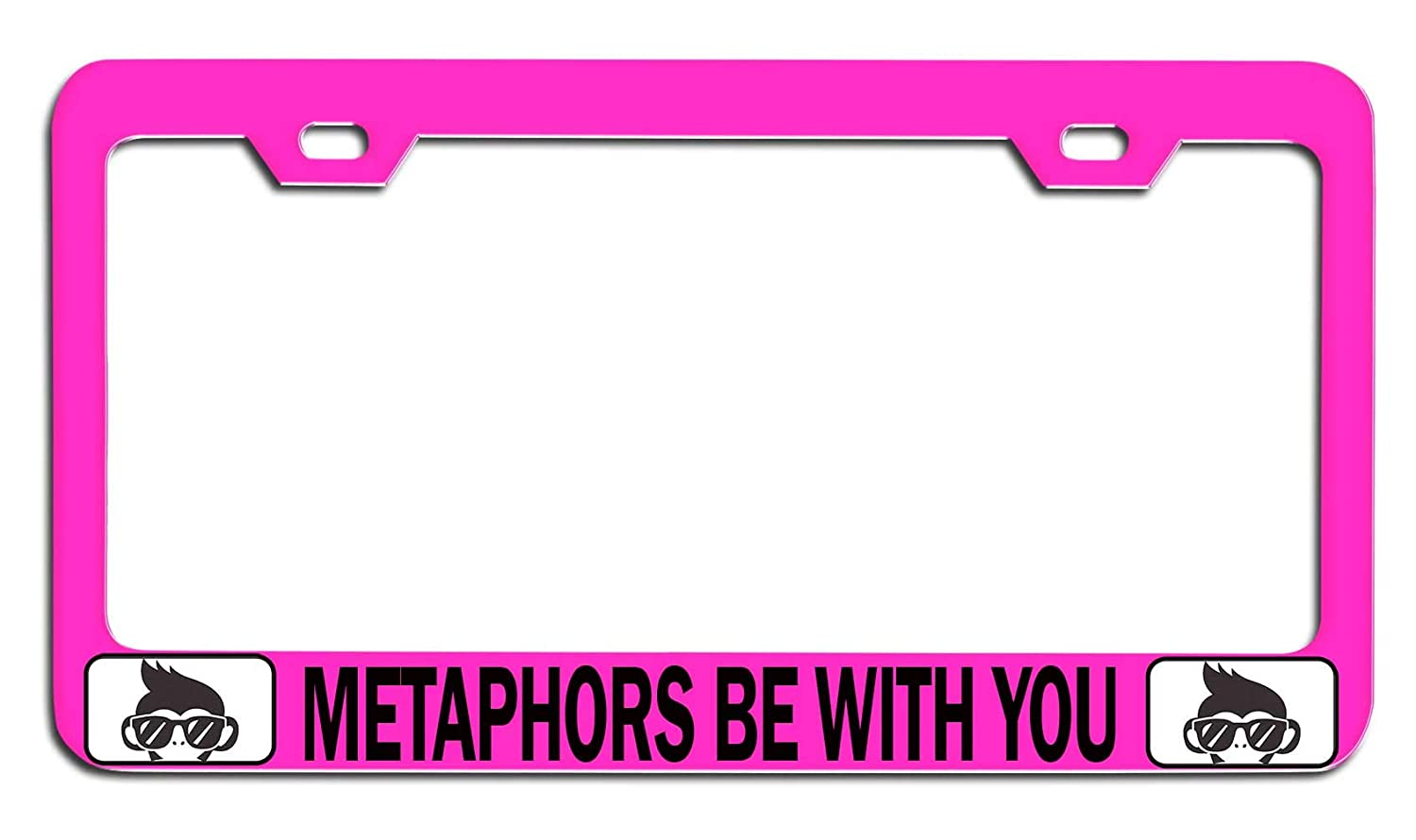 Amazon com: Makoroni - METAPHORS BE WITH YOU Geek Pink Steel