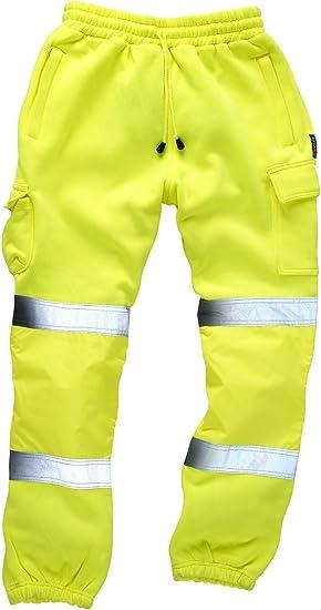 Standsafe HV021 - Hola vis sudor pantalones/pantalones de chándal ...