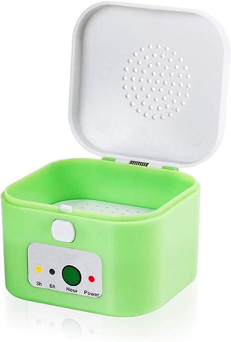 Hearing Aid Case Caja para la Caja de Secado del deshumidificador del secador de audífonos Drybox 3/6 Hora Temporizador Proteja los audífonos por: Amazon.es: Deportes y aire libre