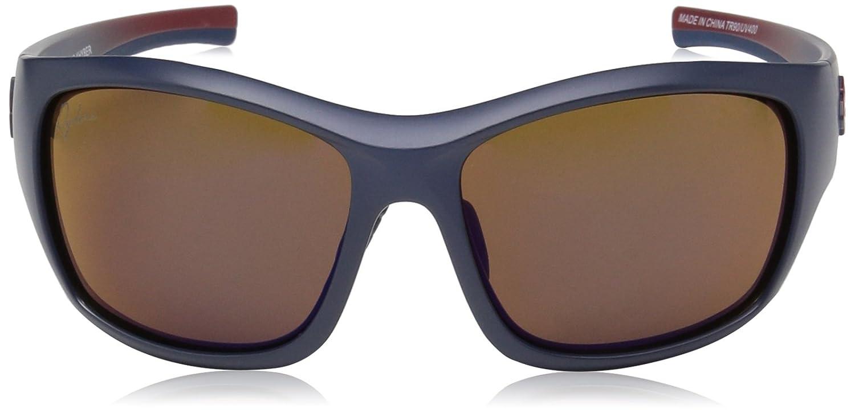 2-Tone Blue 61 mm R02401C Ryders Eyewear Khyber Standard Sunglasses