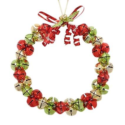 Amazon Com Lyfwl Circles Hanging Wreath Christmas Tree