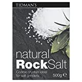 Tidman's Natural Rock Salt (500g) - Pack of 6