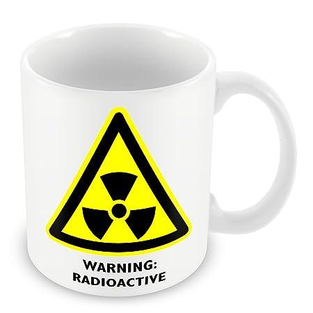 Símbolo de advertencia de peligro de laboratorio radiactivos ...