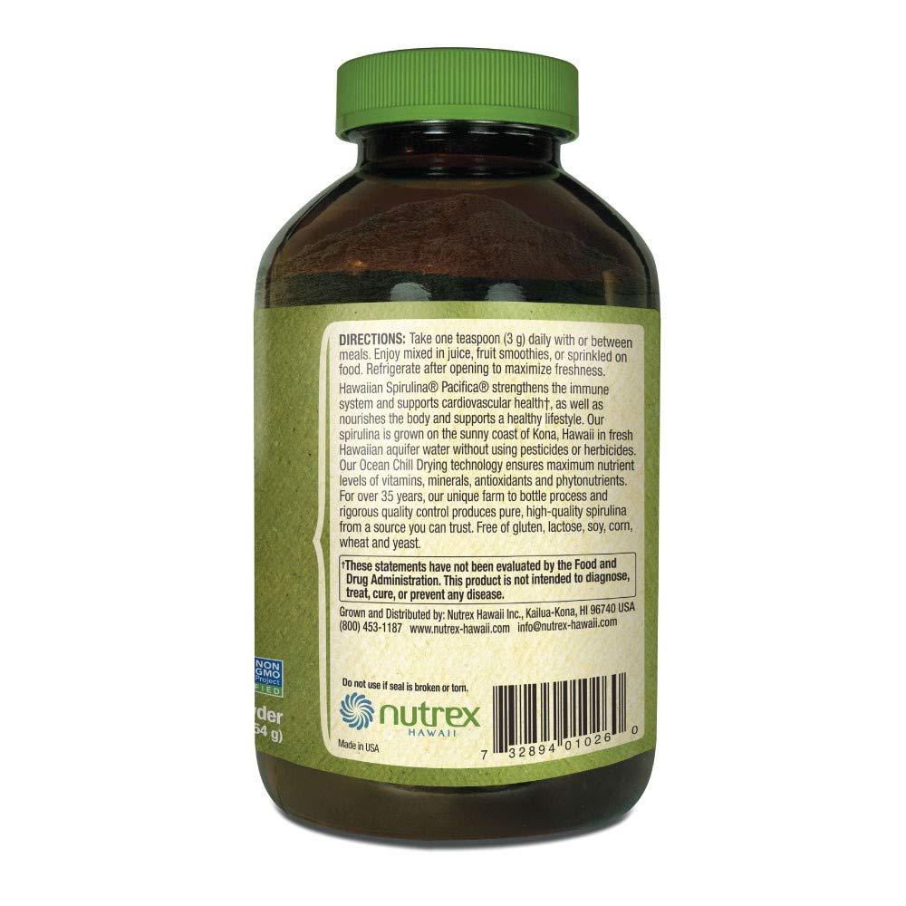 Pure Hawaiian Spirulina Powder 16 oz – Better than Organic – Vegan, Non-GMO, Non-Irradiated – 100 Hawaii Grown – Superfood Supplement Natural Multivitamin