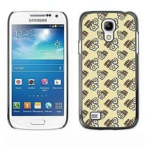 ZECASE Funda Carcasa Tapa Case Cover Para Samsung Galaxy S4 Mini I9190 No.0004086