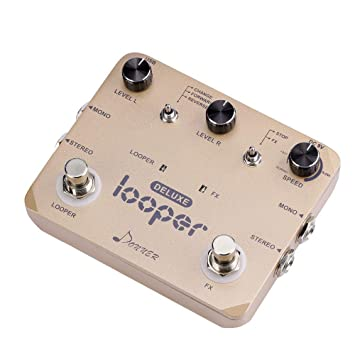Looper Pedal, pedal de efectos de guitarra, Deluxe Twin Loop ...