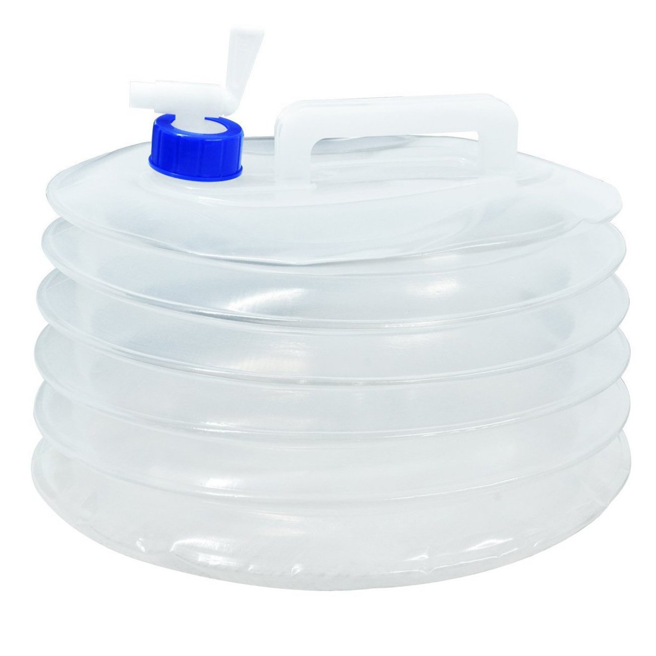 KONKY Folding Water Bucket 10L//15L Collapsible Water Container,PE BPA-Free