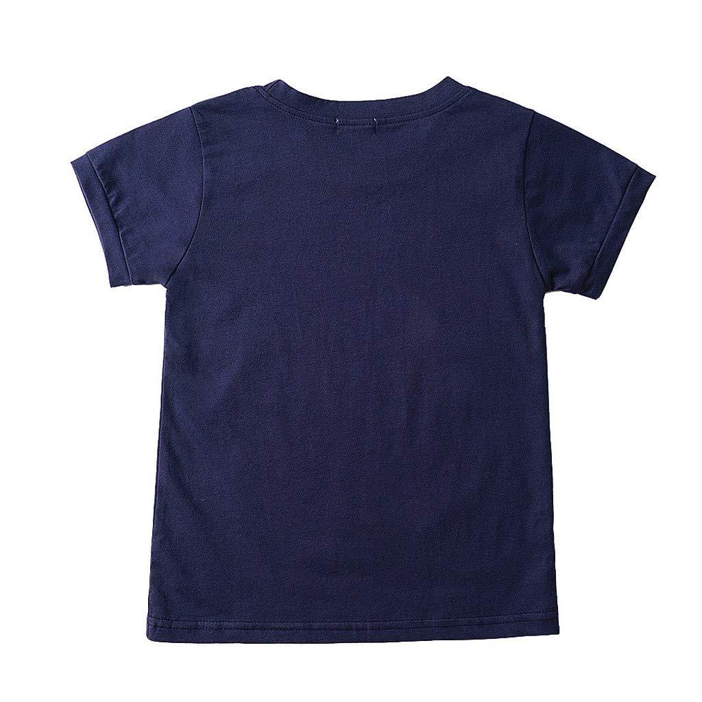 Daoope Completino Bambino 0-3 6-12 Mesi 1 2 3 4 Anni Abbigliamento 24 Mesi Vestiti per Neonati Estate Toddler Neonato Ragazzo Bambini Auto Tops T-Shirt Tee Pantaloni Corti Casual Outfit