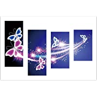 AWAkingdemi Butterfly 5D DIY Full Drill Diamond Painting 4-Pictures Combination Kit Set