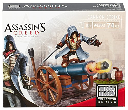 Mega Bloks Collector Series - Assassin's Creed Cannon Strike 74 Piece Building Construction Playset