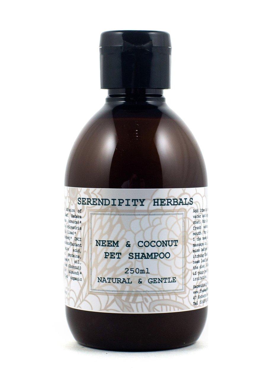 Shampooing pour Chien Neem & et noix de coco Serendipity Herbals