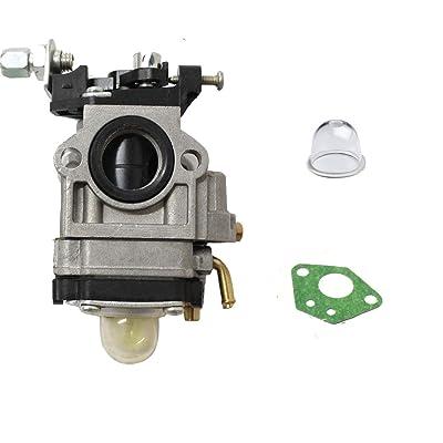 HQParts Carburetor Carb for ARDISAM Earthquake E43 Auger 300486 11334 43CC 51.7CC 2 Cycle : Garden & Outdoor