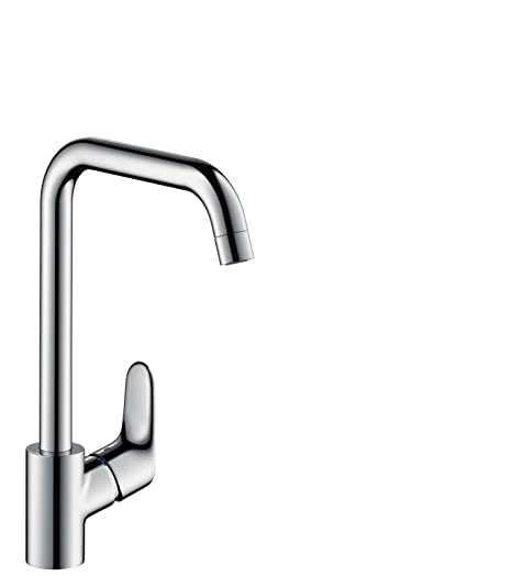 hansgrohe Focus kitchen tap 260 with swivel range, for vented hot ...