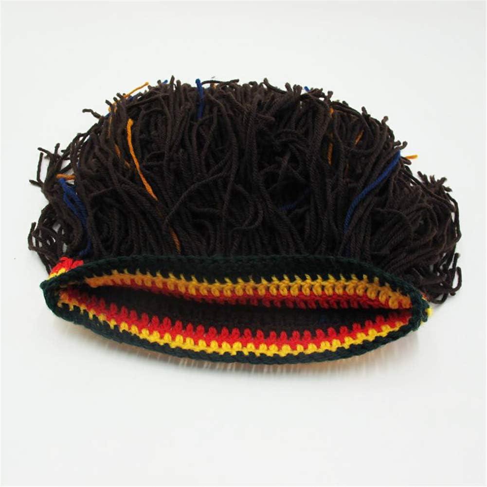 YSJERA Unisex Knit Cap Funny Hallown Cosplay Costume Vikking Skiing Beared Beanie Caps