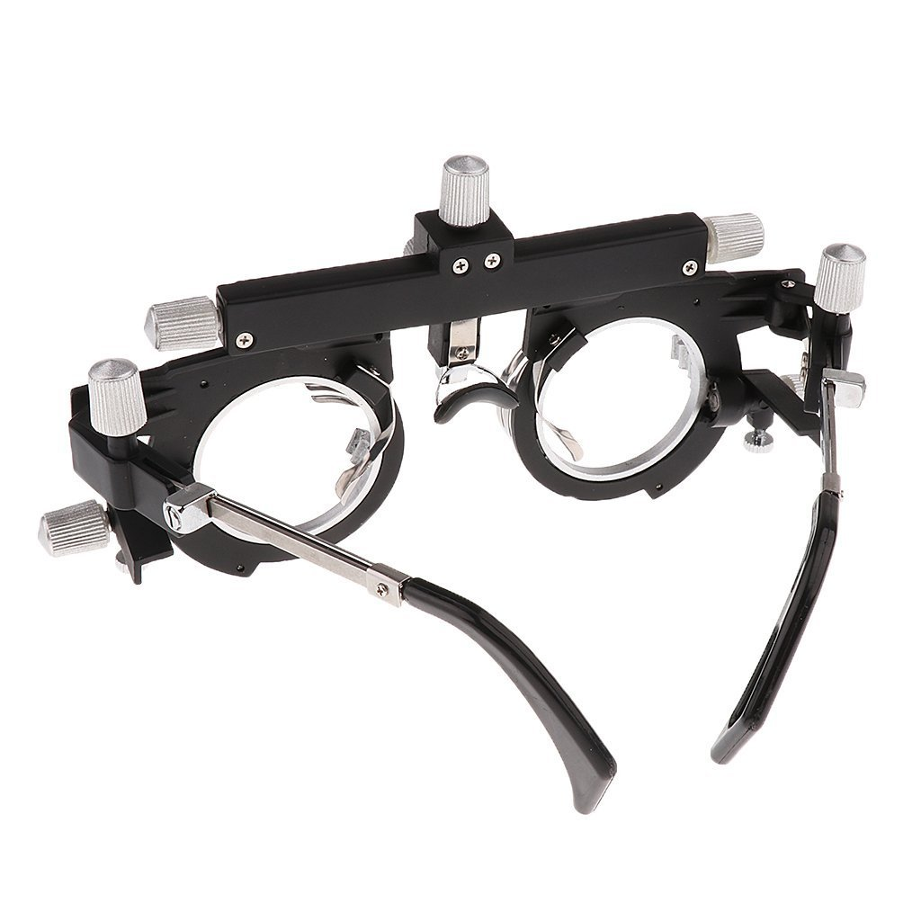 Dhoptical Optical Optic Trial Lens Frame Eye Optometry Optician/Easily Changeable Cylinder Axis, Fully Adjustable Temple Length and Nose Rest glasses shop use by Dhoptical (Image #3)